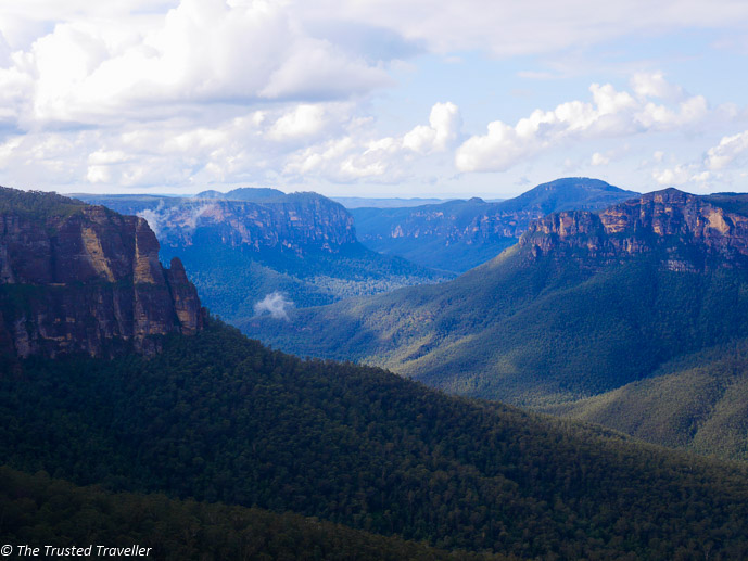 Govetts Leap in the Blue Mountains west of Sydney - 5 Reasons Why I Love Sydney - The Trusted Traveller