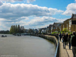 Thames Walk Path - London: 60 Things to See & Do - The Trusted Traveller