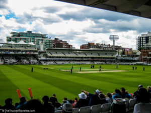 Watch cricket at Lords - London: 60 Things to See & Do - The Trusted Traveller