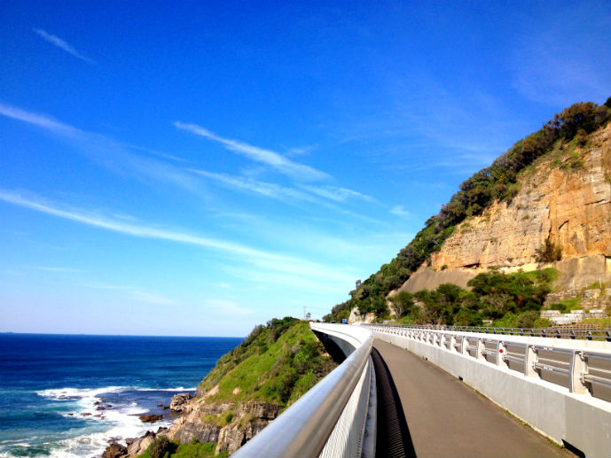 Sea Cliff Bridge - Exploring the Grand Pacific Drive - The Trusted Traveller