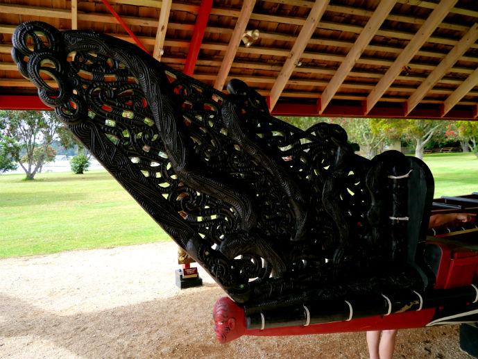 Ceremonial War Canoe, Waitangi Treaty Grounds
