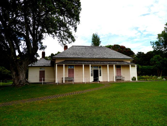 Treaty House, Waitangi Treaty Grounds