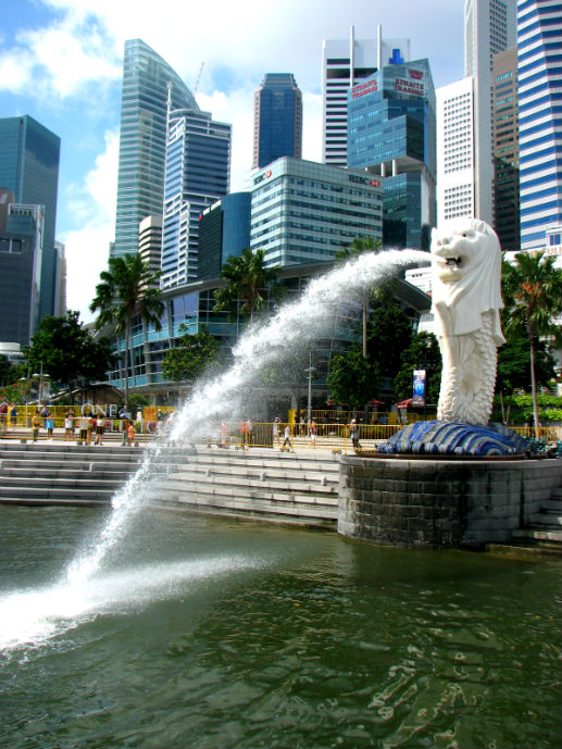 The Merlion on Marina Bay - Things to Do in Singapore - The Trusted Traveller
