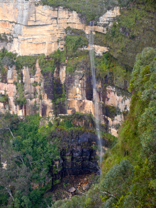 Bridal Veil Falls at Govetts Leap