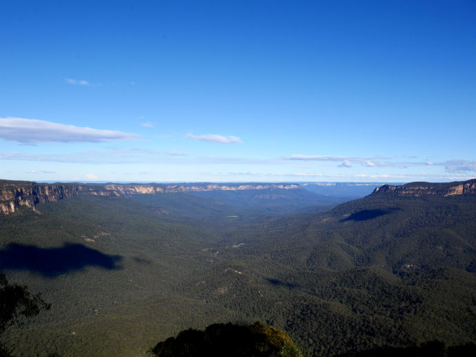 Jamison Valley viewed from Sublime Point Lookout