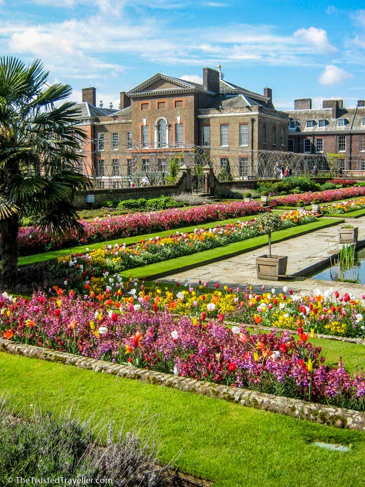 Kensington Palace Gardens, one of the free parks and gardens in London - 30 Free London Attractions - The Trusted Traveller