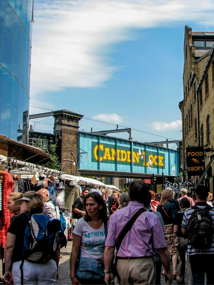Camden Markets in London has something for everyone, even those on a tight budget just looking to enjoy a free day out - 30 Free London Attractions - The Trusted Traveller