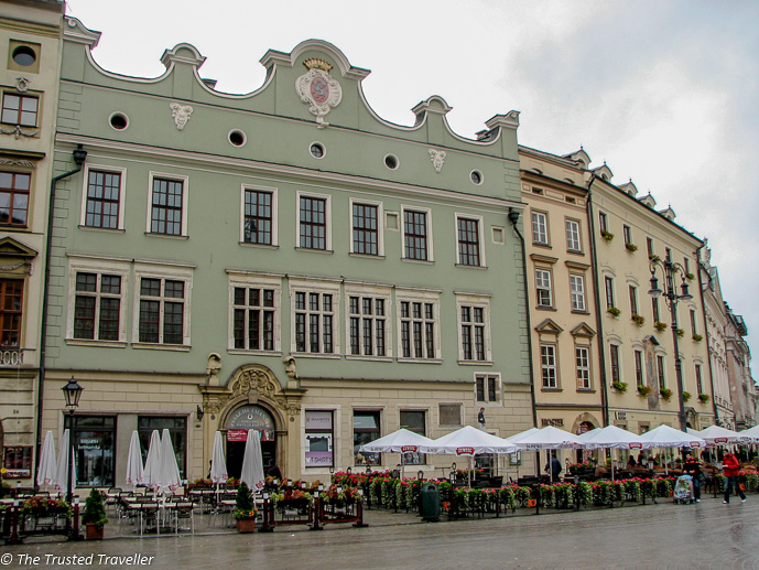 Restaurants line the Rynek Glowny (Main Market Square) - Things to Do in Krakow, Poland - The Trusted Traveller