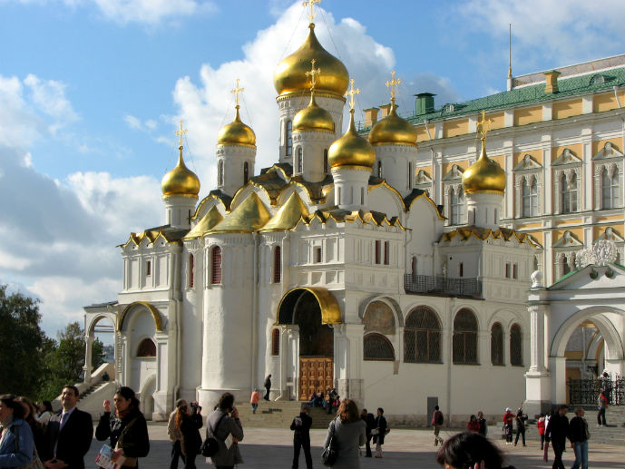 The Annunciation Cathedral at the Kremlin