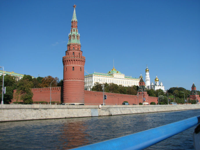 The Kremlin from the Moskva River