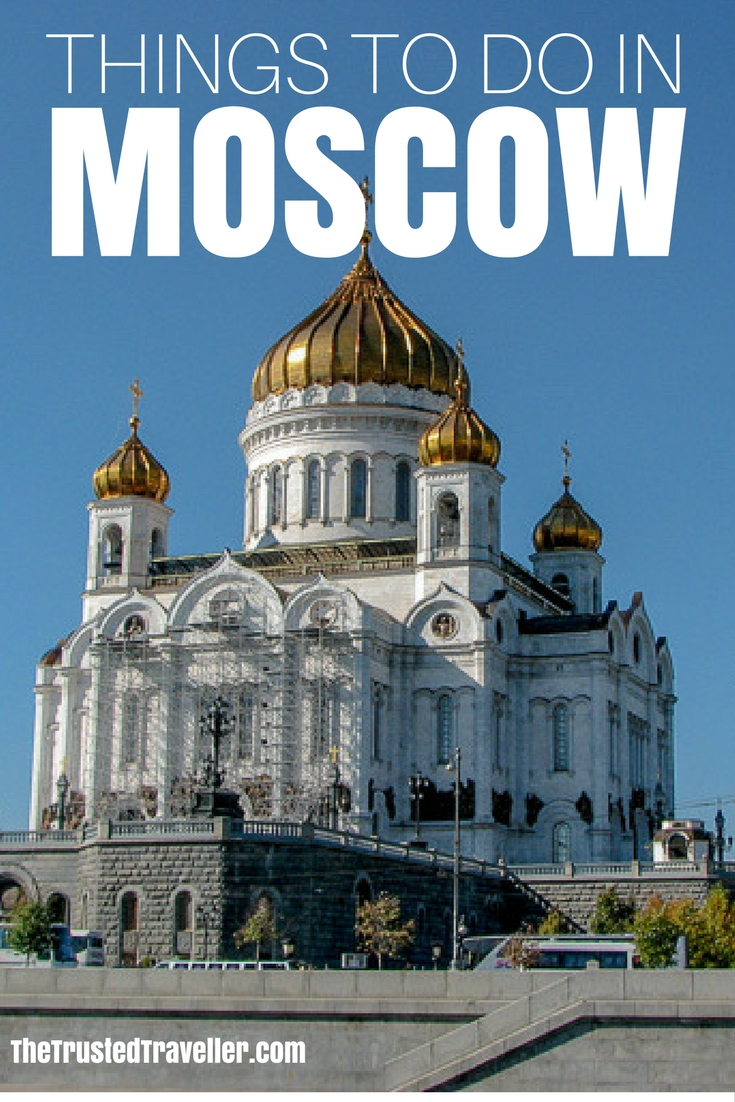 The Cathedral of Christ the Saviour - Things to Do in Moscow - The Trusted Traveller