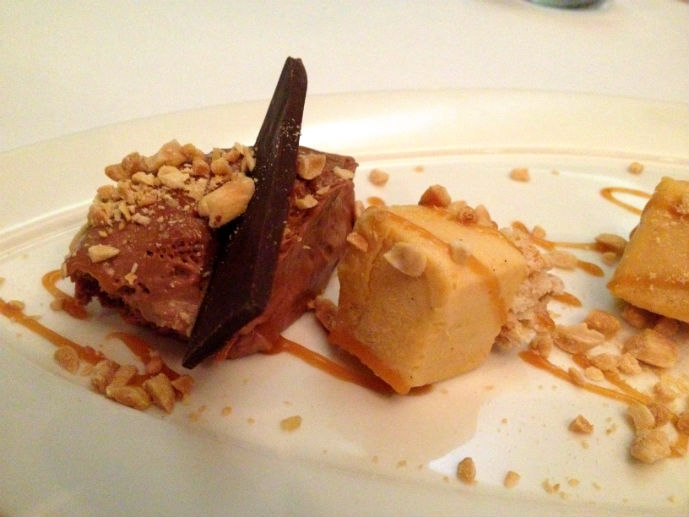 Deconstructed snickers at Eucalypt Restaurant - Hotel Review: Fairmont Resort Blue Mountains - The Trusted Traveller