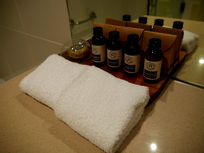 Included toiletries in the bathroom - Hotel Review: Fairmont Resort Blue Mountains - The Trusted Traveller