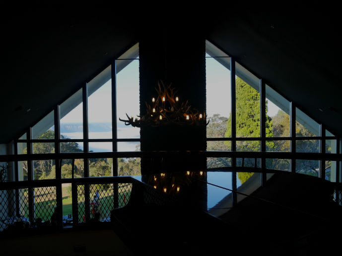 Looking out over the Jamison Valley from the foyer - Hotel Review: Fairmont Resort Blue Mountains - The Trusted Traveller