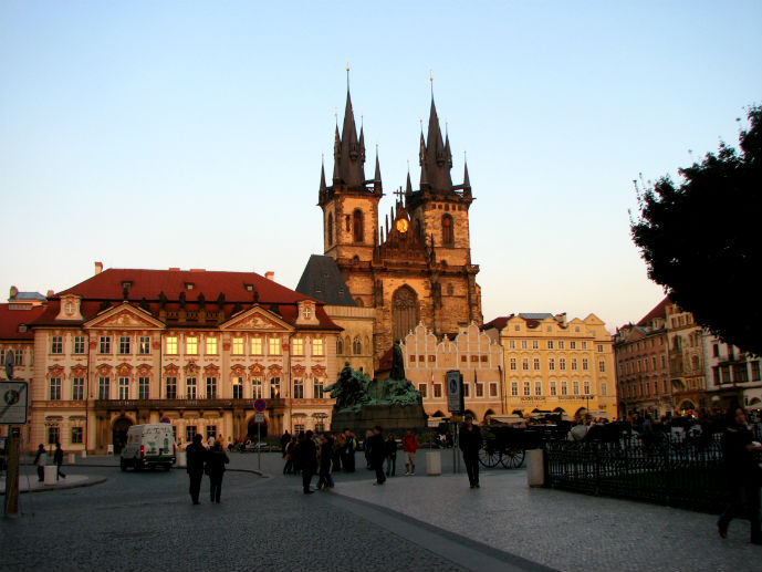 Old Town Square and the Tyn Church - Things to Do in Prague - The Trusted Traveller