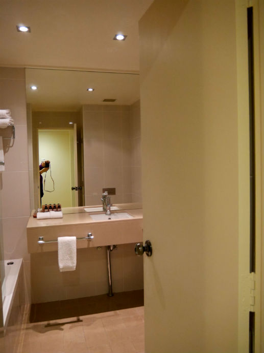 The bathroom - Hotel Review: Fairmont Resort Blue Mountains - The Trusted Traveller