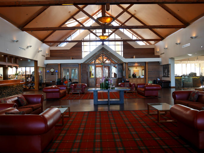 The foyer during the day - Hotel Review: Fairmont Resort Blue Mountains - The Trusted Traveller