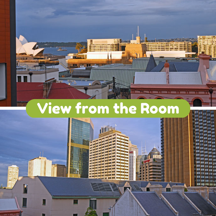 The view from the room - Hostel Review: Sydney Harbour YHA - The Trusted Traveller