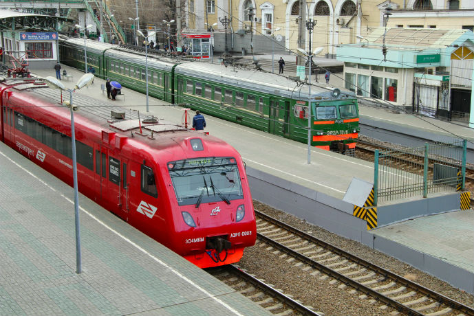 Aeroexpress at Belrussky Station - Getting Around Moscow - The Trusted Traveller