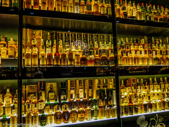 The Whisky Room in the Scotch Whisky Experience in Edinburgh - Things to Do in Edinburgh - The Trusted Traveller