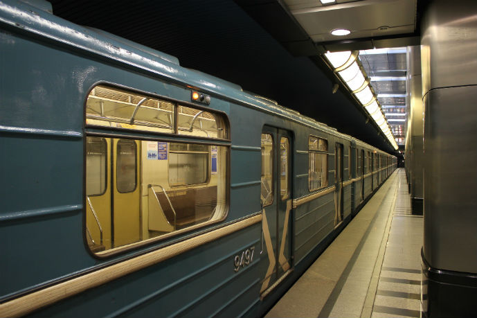 This is what the Metro trains look like - Getting Around Moscow - The Trusted Traveller