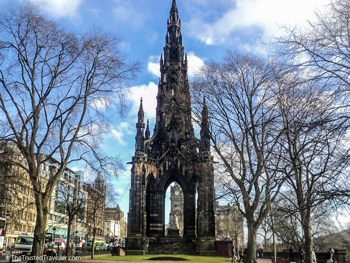 The Scott Monument in Edinburgh - Things to Do in Edinburgh - The Trusted Traveller
