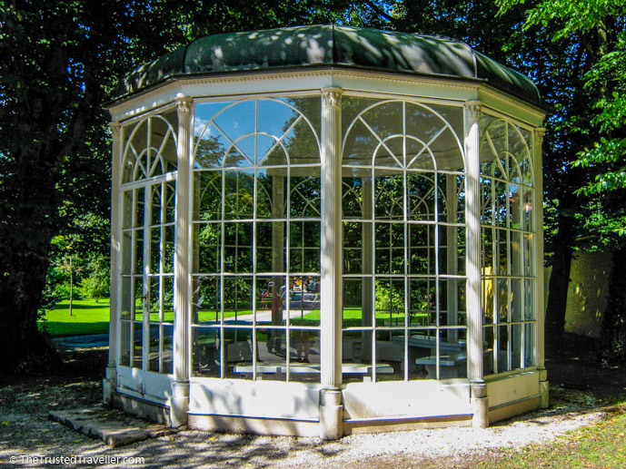 The gazebo Liesl sings I am Sixteen Going on Seventeen in The South of Music - Things to Do in Salzburg - The Trusted Traveller