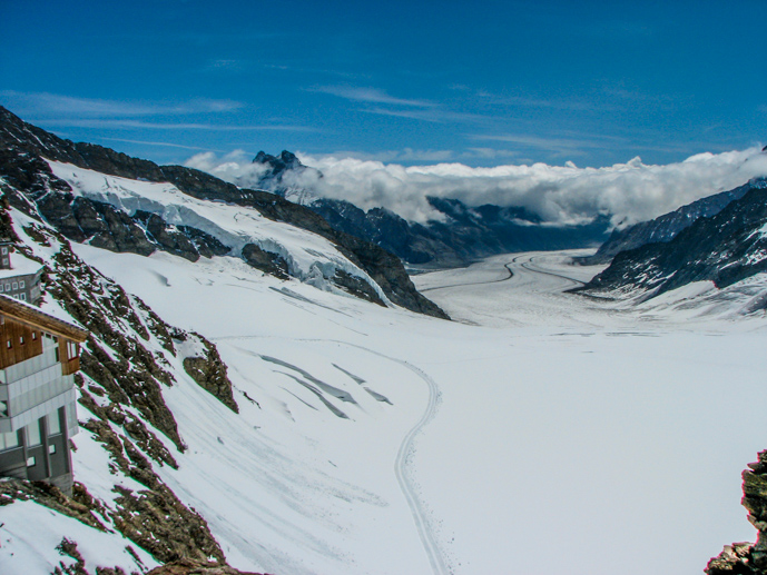 The glacier on the top of Jungrau - Things to Do in Interlaken - The Trusted Traveller