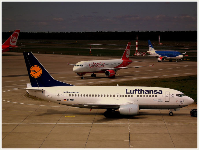 Lufthansa & AirBerlin, the two main airlines arriving in Berlin - Getting Around Berlin - The Trusted Traveller