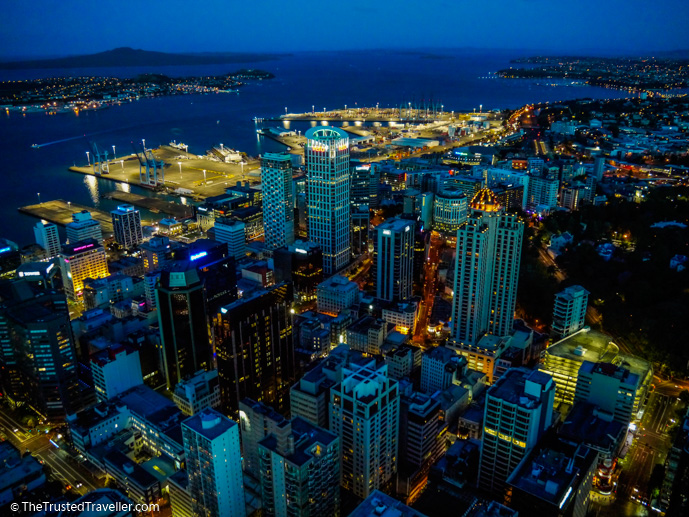 The view from the SkyTower Auckland - Things to Do in Auckland - The Trusted Traveller