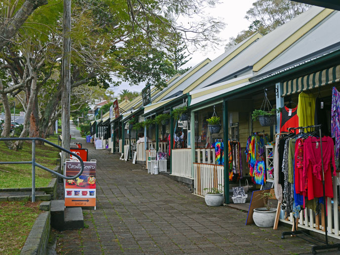 The Terrace and Sandstone Walk Shops in Kiama - The Trusted Traveller