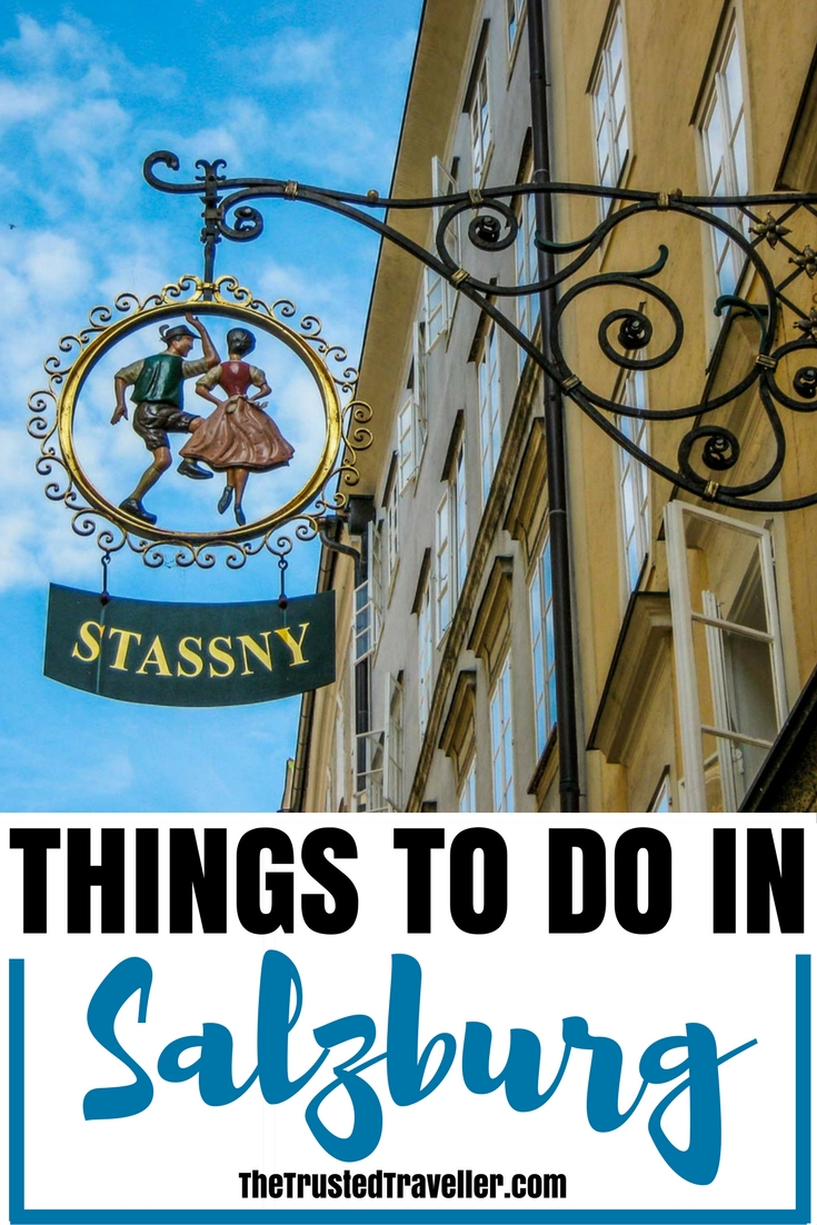 One of the most popular store signs on Salzburg's Getreidegasse - Things to Do in Salzburg - The Trusted Traveller