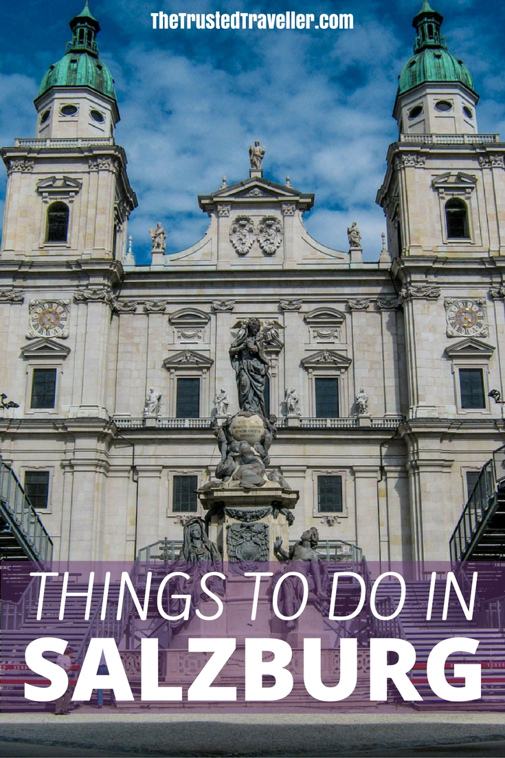 Salzburg Cathedral is one of the most impressive Baroque buildings in Salzburg, a city spoilt with incredible architecture - Things to Do in Salzburg - The Trusted Traveller
