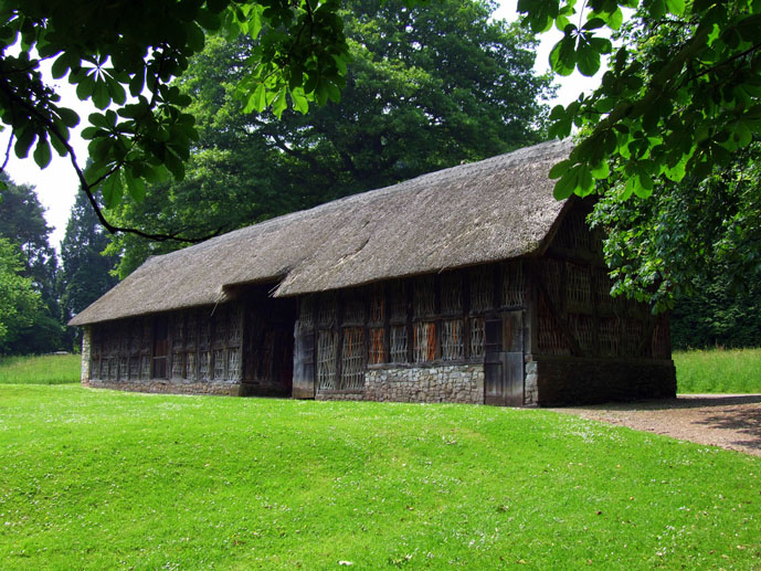 Traditional buildings at the open air St Fagans National History Museum - Things to Do in Cardiff - The Trusted Traveller