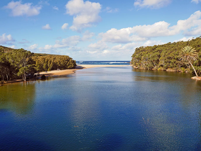 Wattamolla in the Royal National Park - The Trusted Traveller