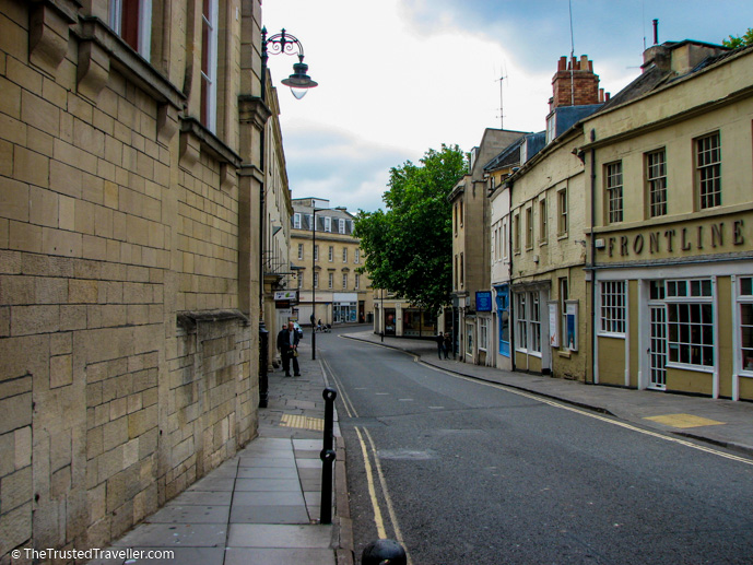 The streets of Bath - Things to Do in Bath - The Trusted Traveller