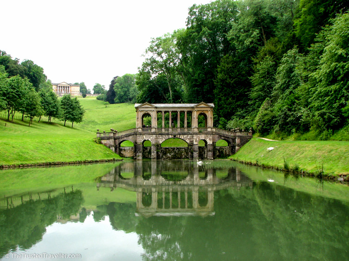 The Palladian Bridge in Prior Park - Things to Do in Bath - The Trusted Traveller