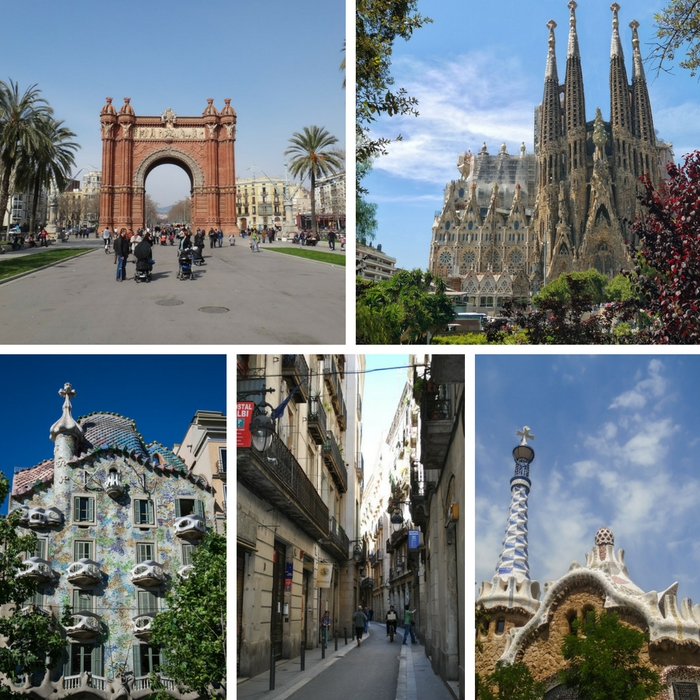 Some of the things to see and do in Barcelona, Spain - One Month Europe Itinerary for First Timers - The Trusted Traveller