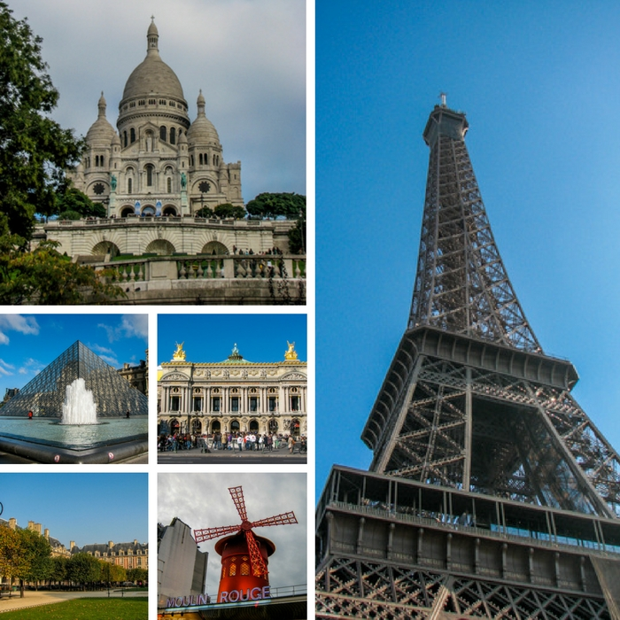 The Eiffel Tower, Sacre Coeur Cathedral, The Louvre, Paris Opera House, Place des Vosges and Moulin Rouge; just a few of the things you can see and do in Paris - One Month Europe Itinerary for First Timers - The Trusted Traveller