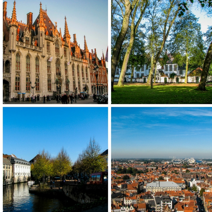 Just a few of the things you can see and do in Bruges, Belgium- One Month Europe Itinerary for First Timers - The Trusted Traveller