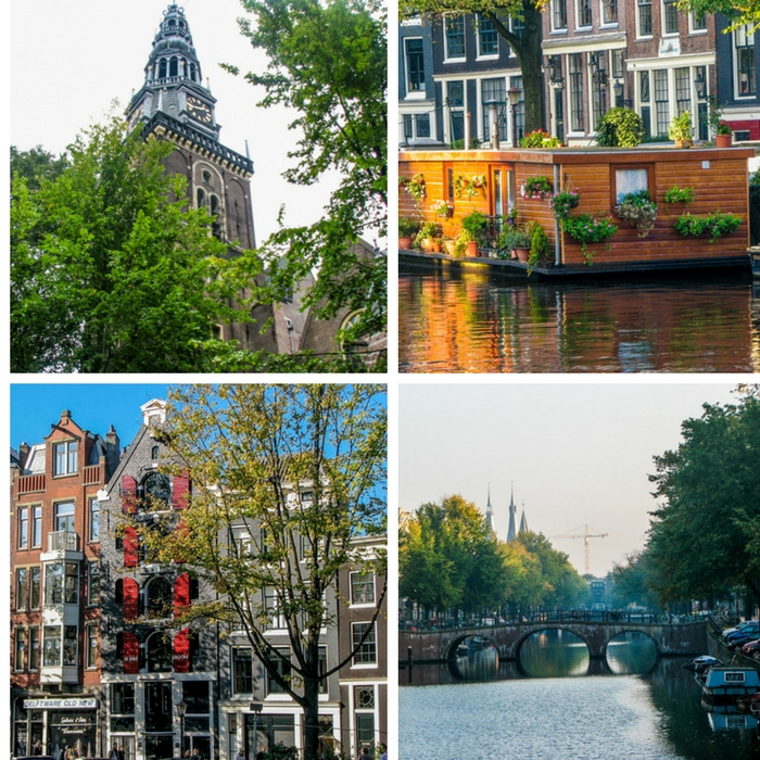 Just a few scenes from Amsterdam in the Netherlands - One Month Europe Itinerary for First Timers - The Trusted Traveller