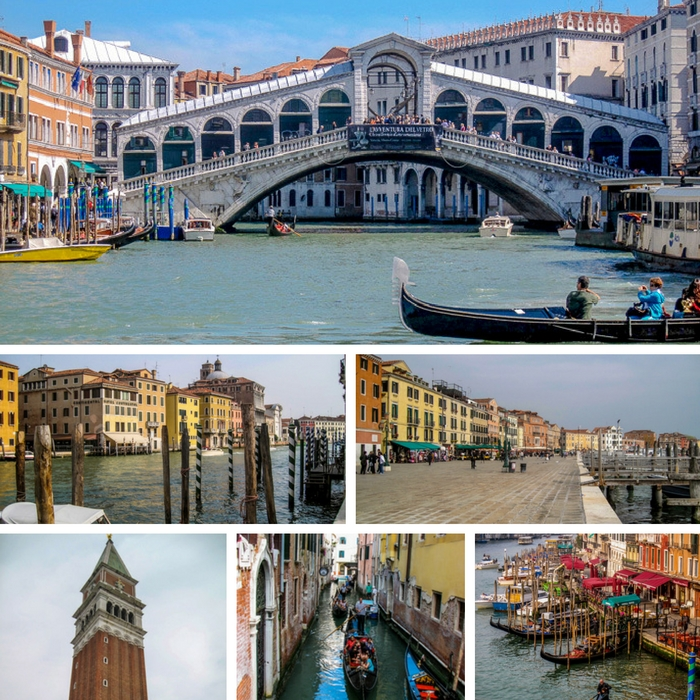 Just a few scenes from the beautiful Italian city of Venice - One Month Europe Itinerary for First Timers - The Trusted Traveller
