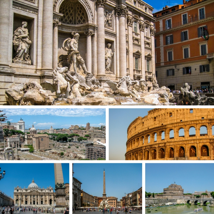 Some of the things to see and do in Rome, Italy - One Month Europe Itinerary for First Timers - The Trusted Traveller