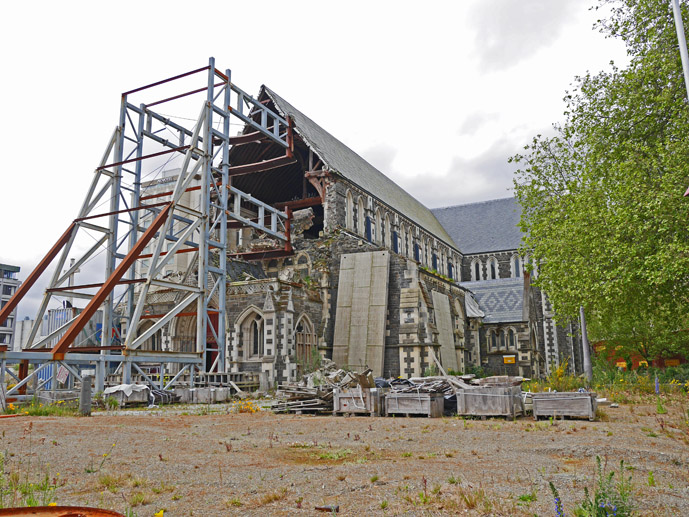 Ruins of the Christchurch Cathedral - Things to Do in Christchurch - The Trusted Traveller