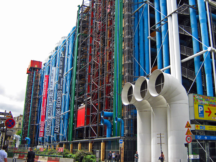 Centre Ponpidou - 30 Things to Do in Paris - The Trusted Traveller