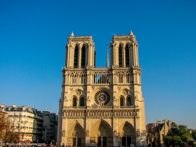 Notre Dame Cathedral - 30 Things to Do in Paris - The Trusted Traveller