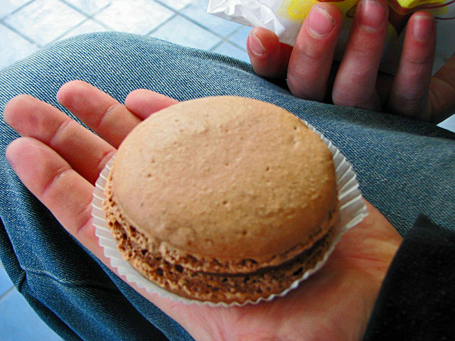 The biggest macaroon i've ever seen - 30 Things to Do in Paris - The Trusted Traveller