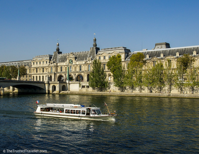 Cruising the Seine - 30 Things to Do in Paris - The Trusted Traveller