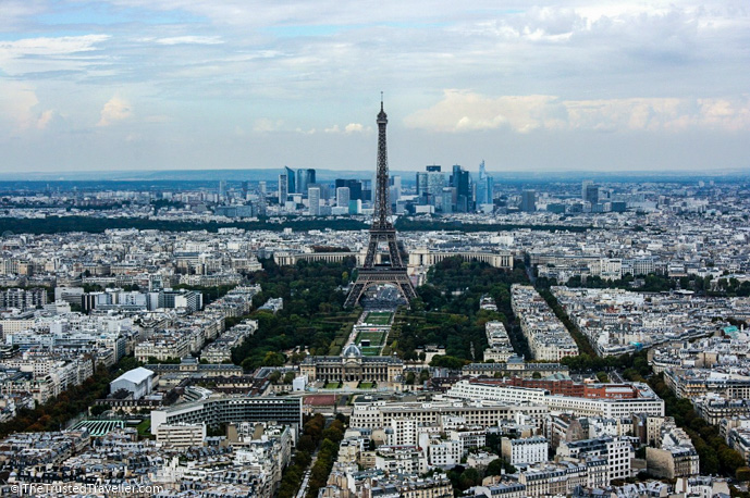 The view from Montparnasse Tower - 30 Things to Do in Paris - The Trusted Traveller