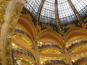 Inside Galeries Lafayette - 30 Things to Do in Paris - The Trusted Traveller